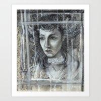Rococo Melancholia Art Print