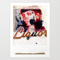 LiQUORSCAPE Art Print
