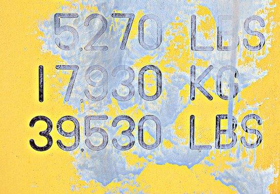 Big Numbers  Art Print