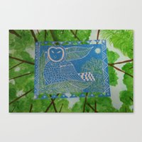 Canvas Print featuring Owl Always Love You by California English