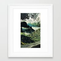 Birds Forget How to Land (2) Framed Art Print