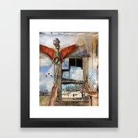 Post Mortem Framed Art Print