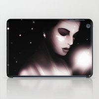 Listening to The Sound of Thunder iPad Case
