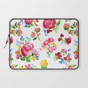 Watercolor Roses Laptop Sleeve