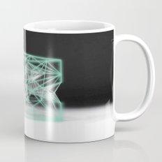 neon cube Mug