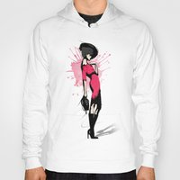Pink Dress - Fashion Illustration Hoody