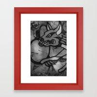 Garuda Dog Framed Art Print