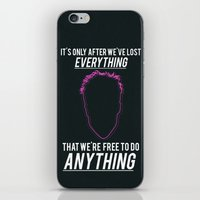 Fight Club Movie Quote iPhone & iPod Skin