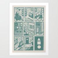 Squential Print Art Print