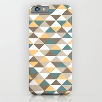 iPhone & iPod Case featuring Triangle Pattern #2 by LoMoCo