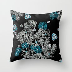 Flower Dream  Throw Pillow