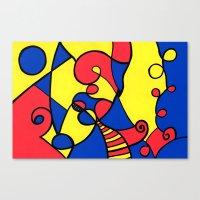Print #12 Canvas Print