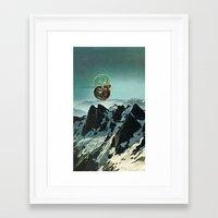 (.) Framed Art Print