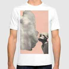 Exhalation Mens Fitted Tee White SMALL