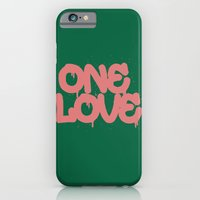 iPhone & iPod Case featuring ONELOVE by Visionary Soul Designs