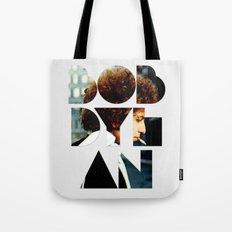 Bob Dylan Font Colour Tote Bag