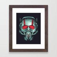 Ant-hero Framed Art Print