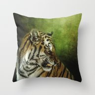 Who Goes There Throw Pillow