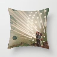 Throw Pillow featuring The Light Pours Out Of M… by Jesse Treece