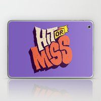 Hit Or Miss Laptop & iPad Skin