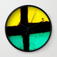 Light and Color III Wall Clock
