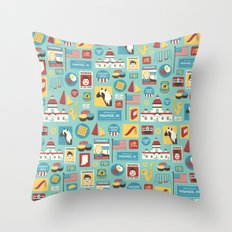 Parks and Recreation Throw Pillow