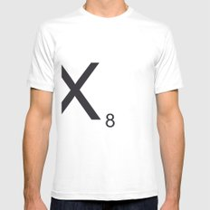 Scrabble X Mens Fitted Tee SMALL White
