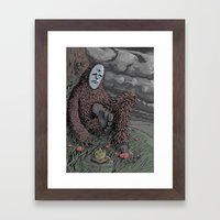 The Weather Framed Art Print