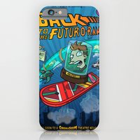 iPhone & iPod Case featuring Back to the Futur-o-Rama by Adrien ADN Noterdaem