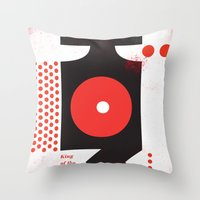 King Of The Mountains, A… Throw Pillow