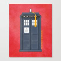 11th Doctor - DOCTOR WHO Canvas Print
