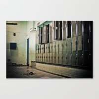 Left (bare) Behind  Canvas Print