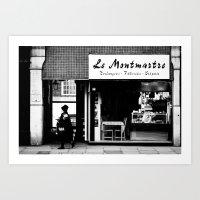 Boulangerie Le Montmartr… Art Print