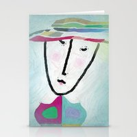 Matching Hat Stationery Cards
