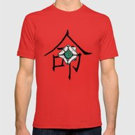 Side Kick Mens Fitted Tee Red SMALL