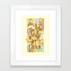 Parks & Rec - Dammit Jerry! Edition Framed Art Print