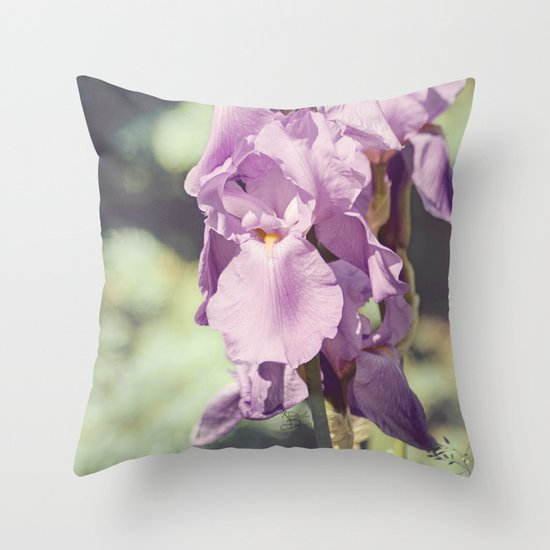 Spring Splendor Throw Pillow