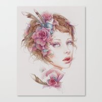 This, My Porcelain Life Canvas Print