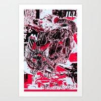 RoboCat Art Print