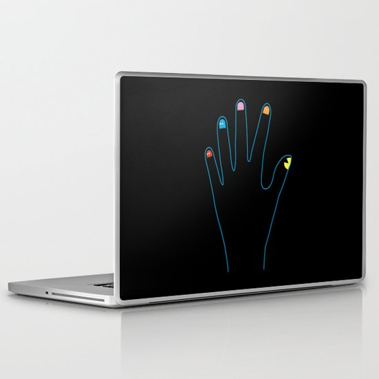 Spirit Fingers Laptop & iPad Skin