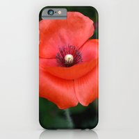 Red Poppy iPhone 6 Slim Case