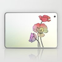 Three Poppies Laptop & iPad Skin