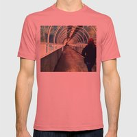 Onward Into The Tunnel F… Mens Fitted Tee Pomegranate SMALL