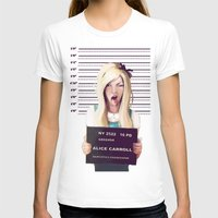 alice in wonderland T-shirts featuring Alice by adroverart