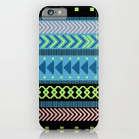 iPhone & iPod Case featuring Together Again - tribal geometrics by penina