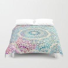 Watercolor Mandala Duvet Cover