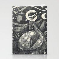 Night Secrets Stationery Cards