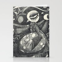 Night Secrets Stationery Cards