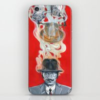 Monkey Hatter iPhone & iPod Skin