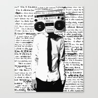 creep Canvas Print